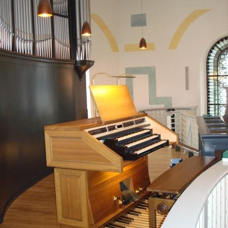 Alfter, St. Matthaeus Spieltisch ©Bildarchiv Orgelbau Johannes Klais, Bonn (3)