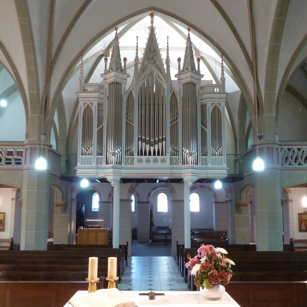 Katholische Pfarrkirche St. Margareta, Neunkirchen